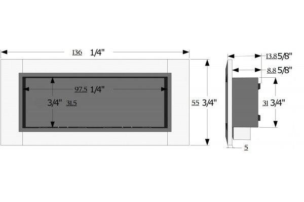 Mod .FD30 con 3 mega bruciatori Vetro incluso
