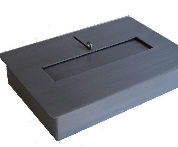 BRUCIATORE 3,0 lit acciaio