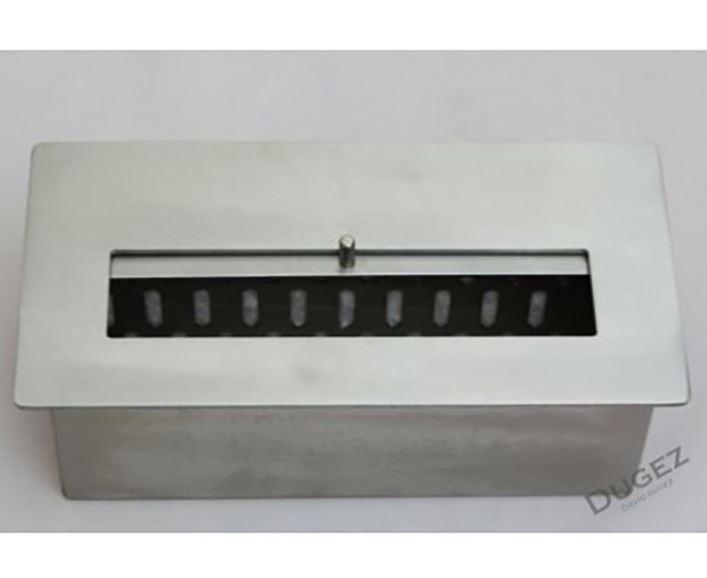 BRUCIATORE 1,5 lit FD25 professionale acciaio inox