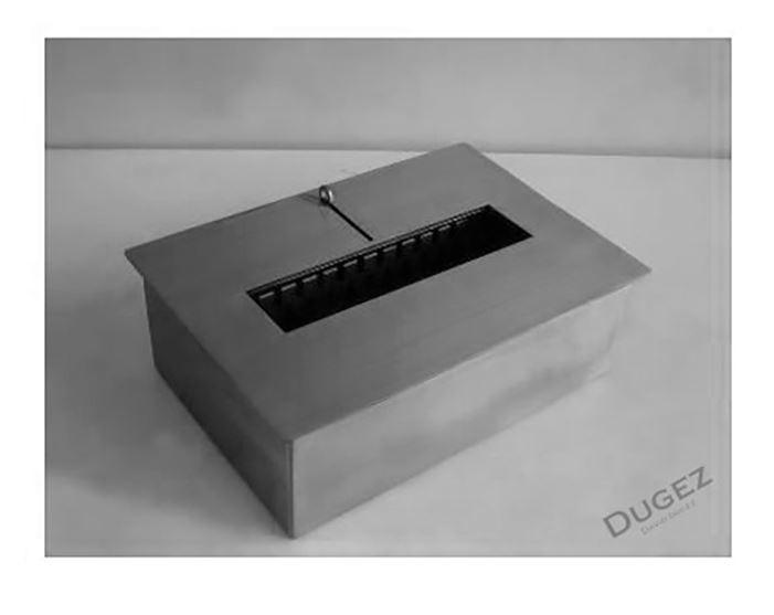 BRUCIATORE 5,0 lit FDB27 professionale acciaio inox