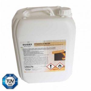 Kit Jack 20 lit bioeanolo+accendino+cheramiche+Pompa elet